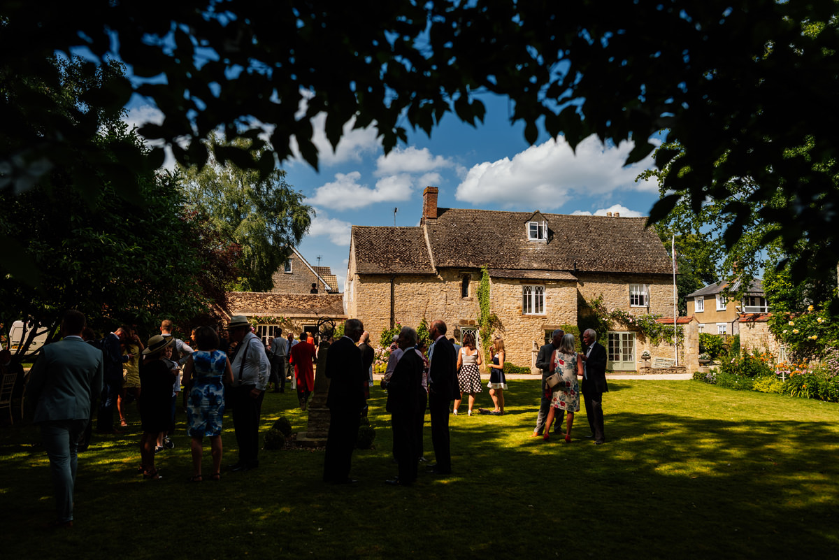 summer wedding in bicester