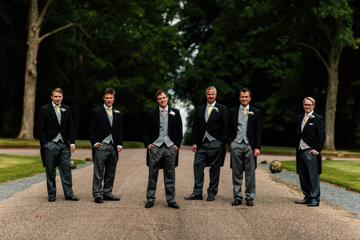 Groomsman group photo