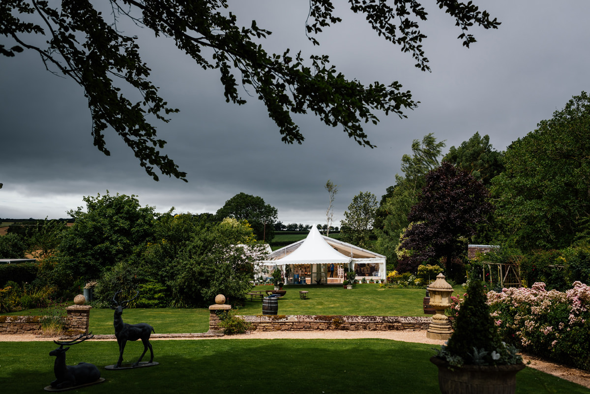 shropshire wedding marquee