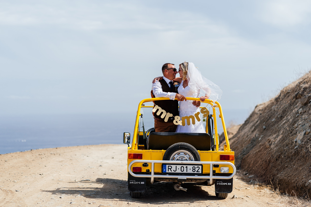 Porto Santo wedding photographs