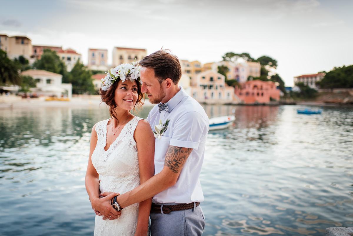 Assos Kefalonia wedding photographer