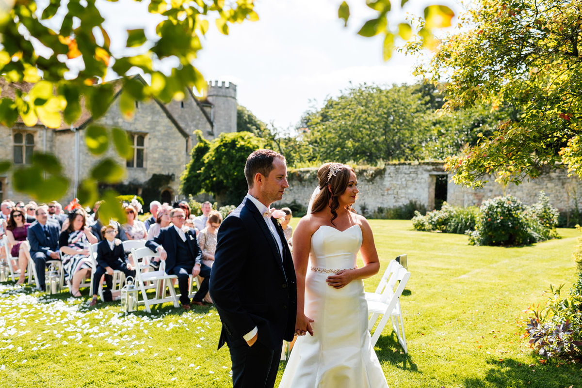 Notley Abbey outside ceremony