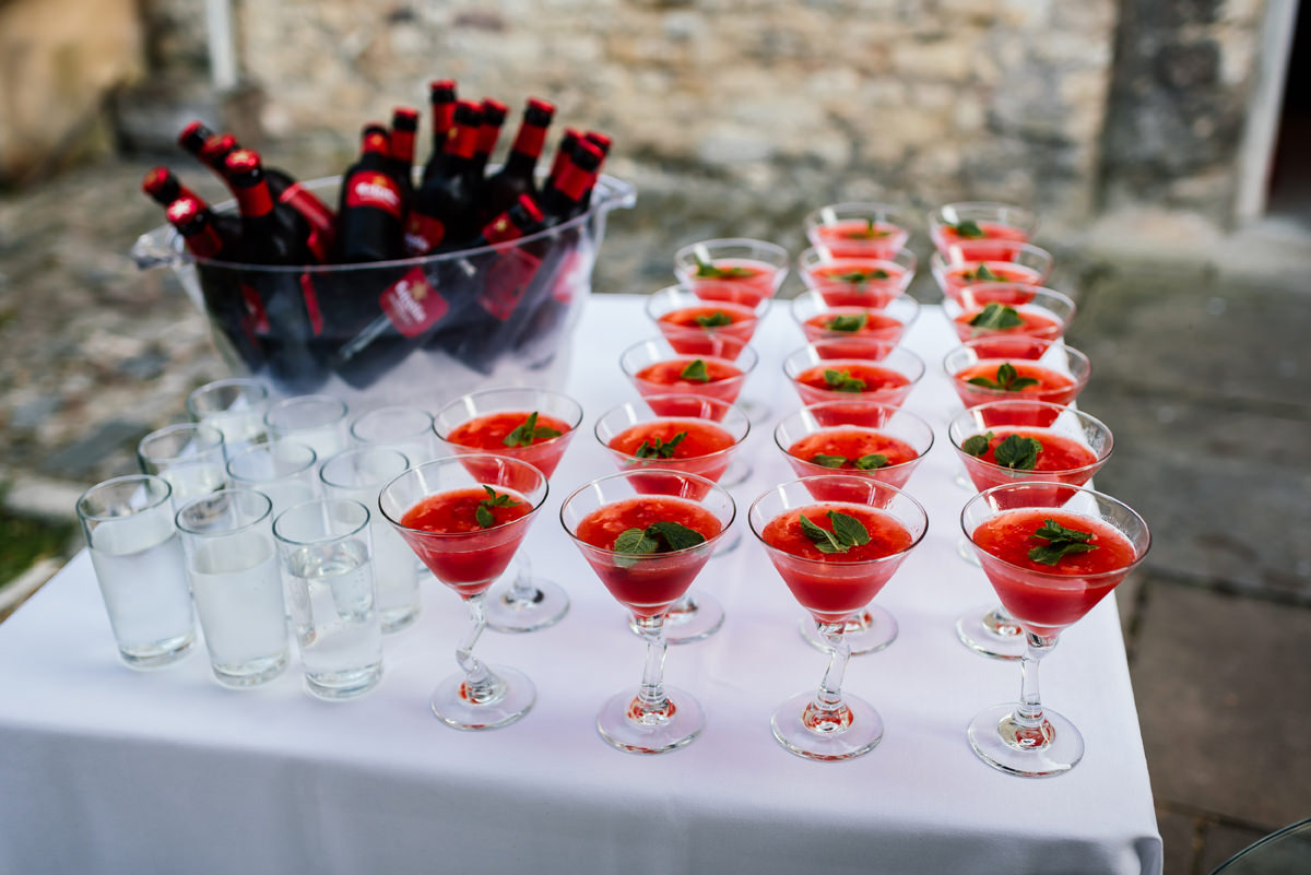 cocktails wedding