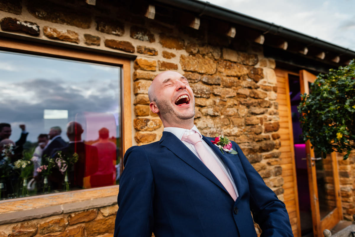 Relaxed Northampton Wedding Photographer