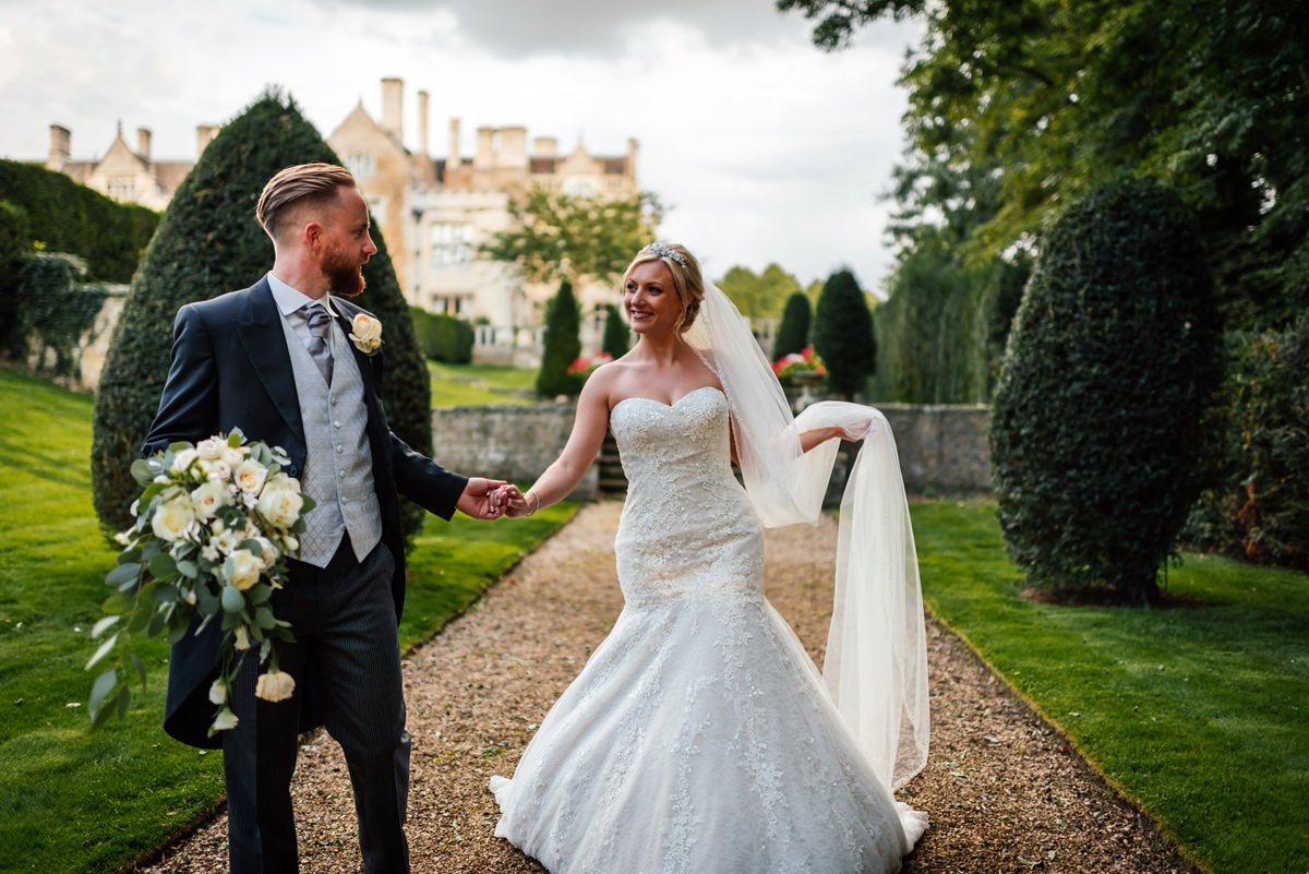 Rushton Hall Orangery Wedding Photographer