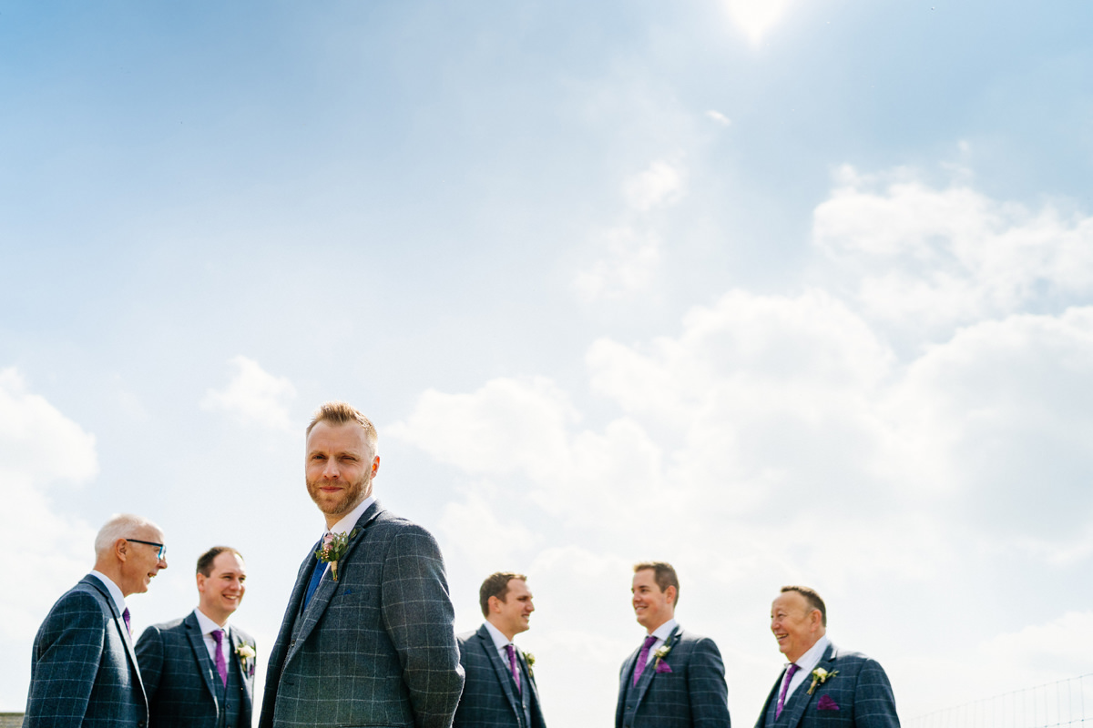groomsman photo