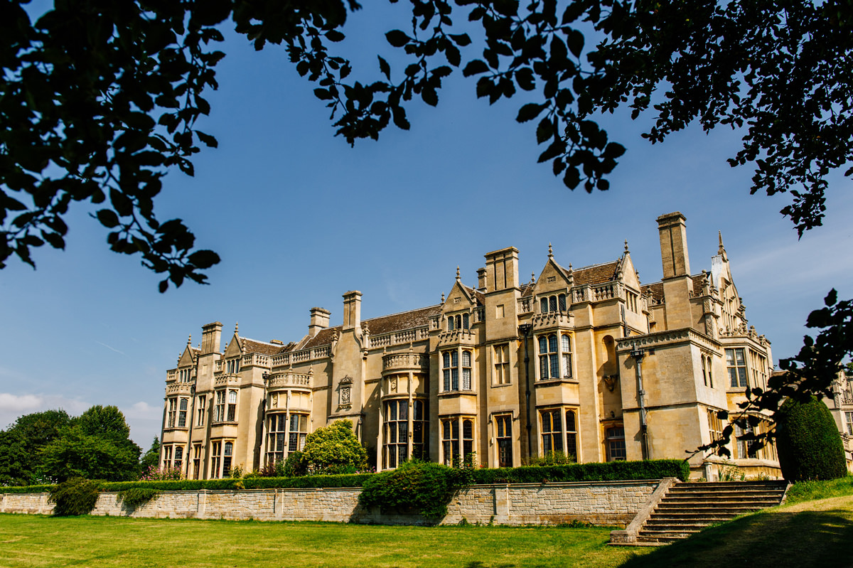 Rushton Hall Wedding venue