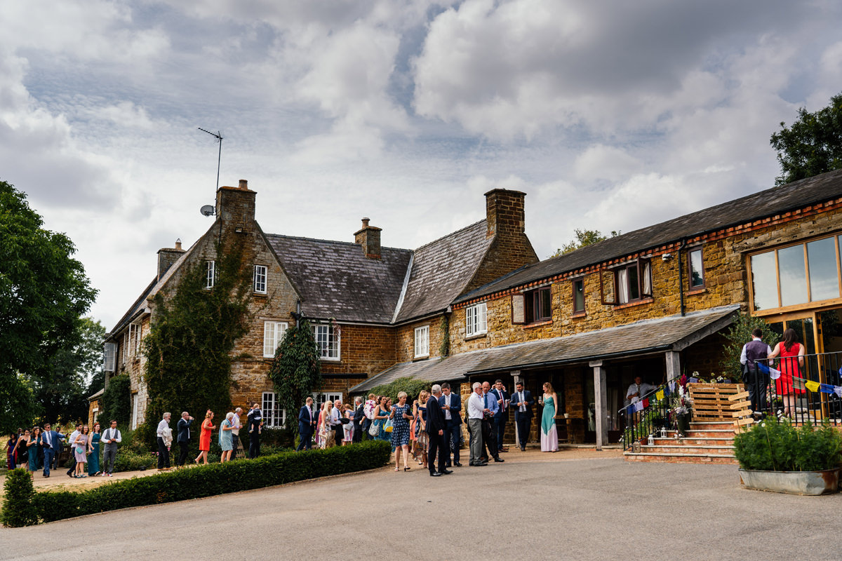 Crockwell Farm Northamptonshire wedding venue