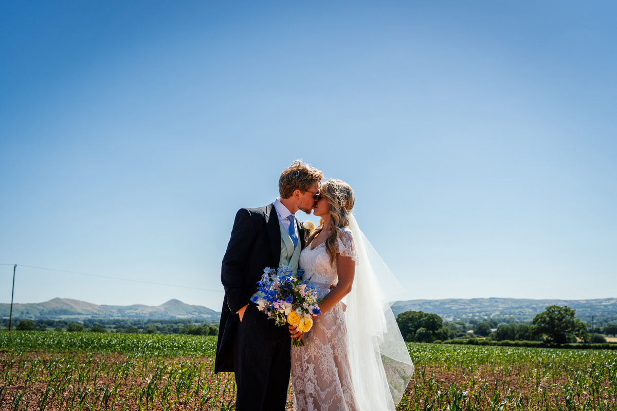 shropshire wedding portrait