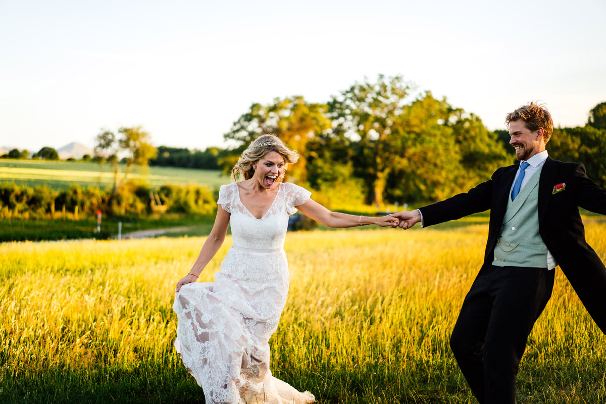 Shropshire Marquee Wedding Photographer