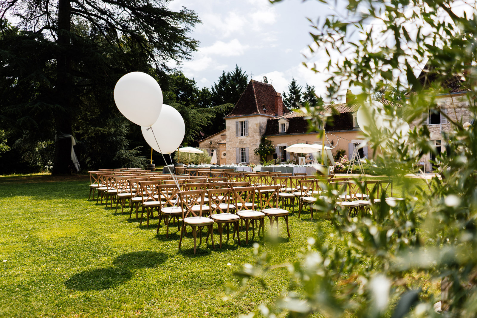Chateau Lacanaud wedding