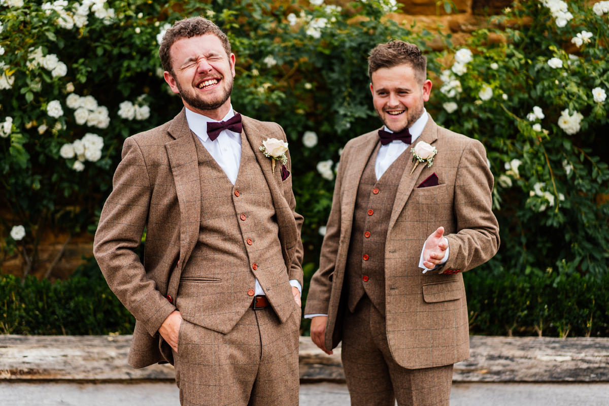 groom and best man formal photo