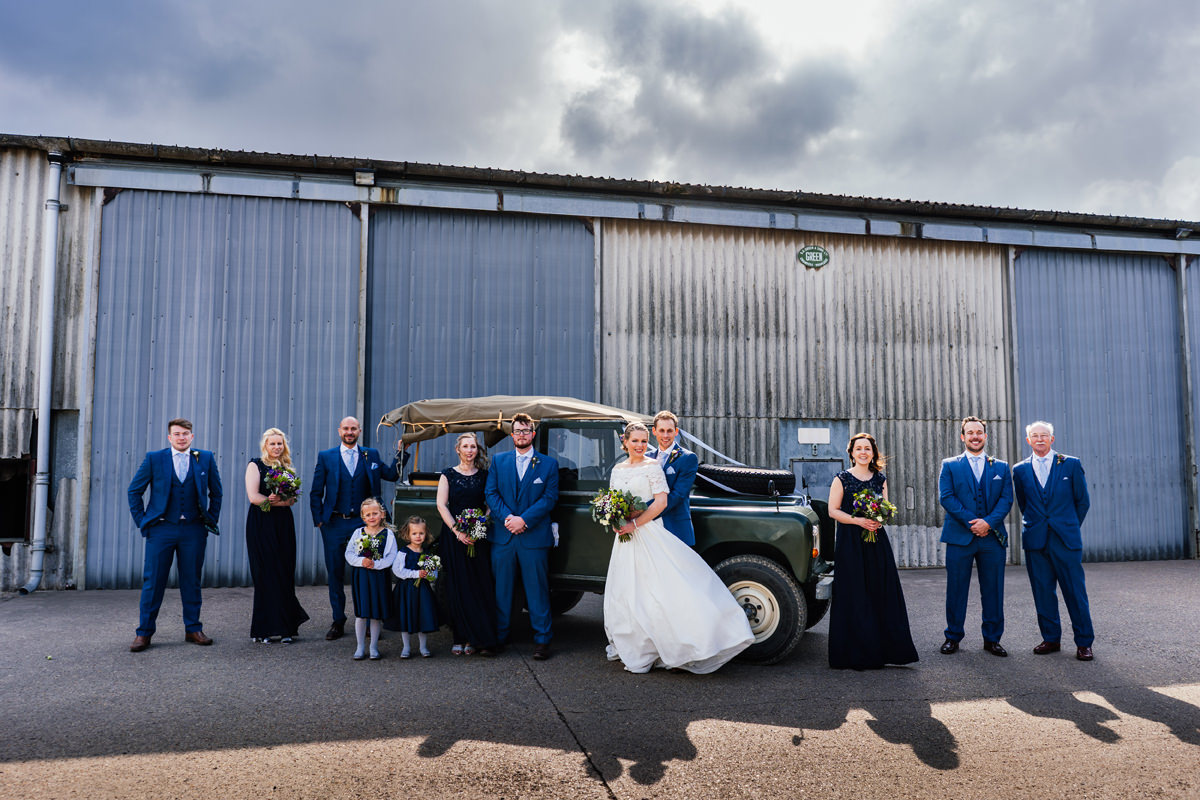 young farmers wedding photographer