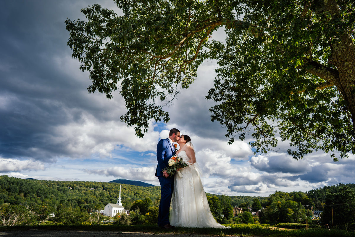 Stowe Vermont Wedding Photographer