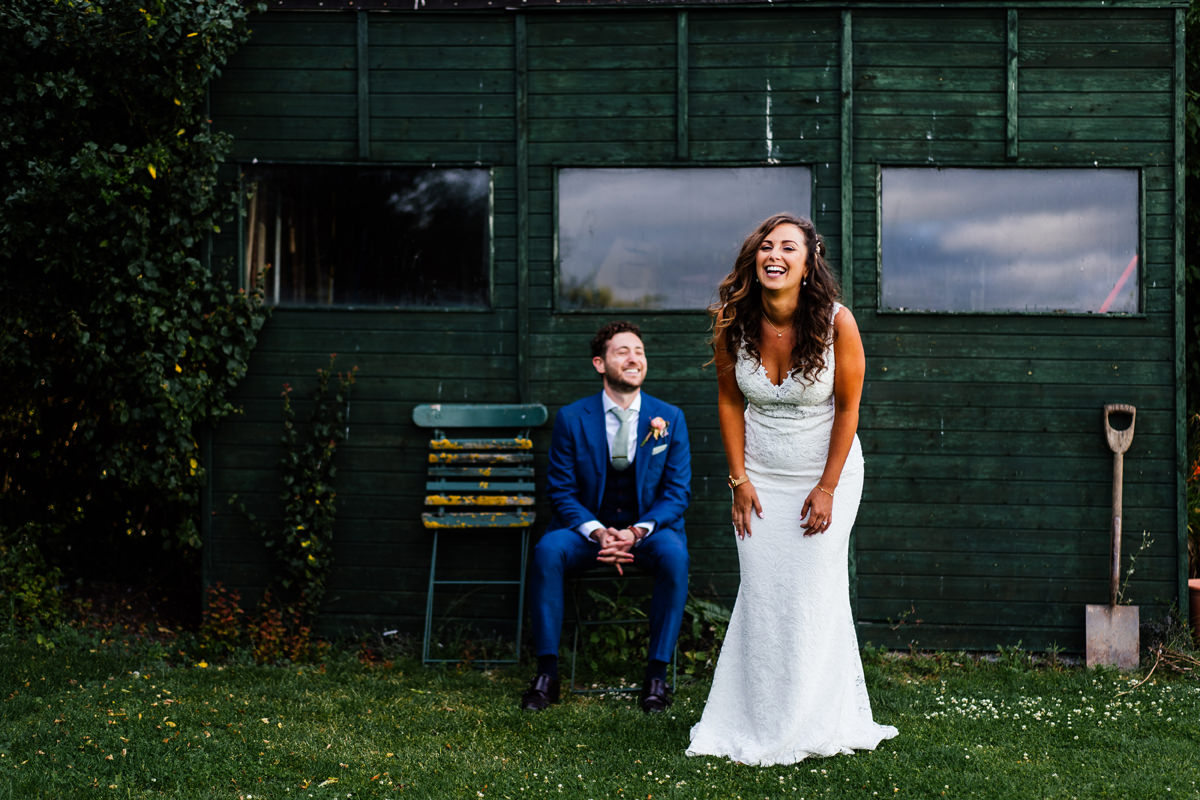 relaxed wedding portraiture
