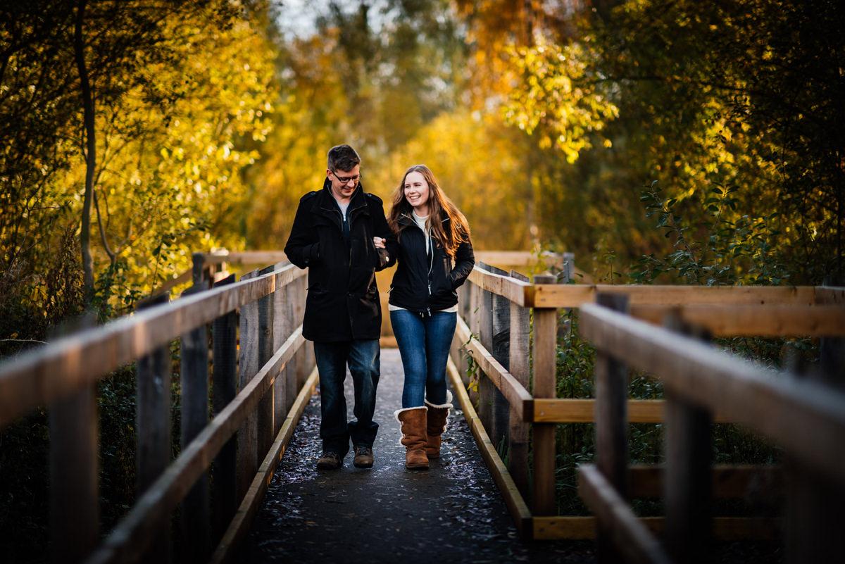 Autumnal Pre-Wedding Shoot