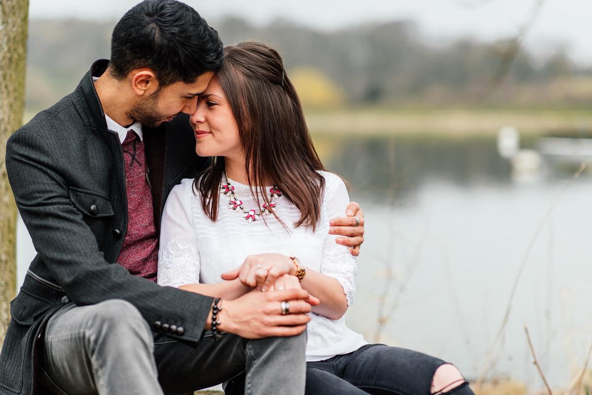 Northamptonshire pre-wedding shoot