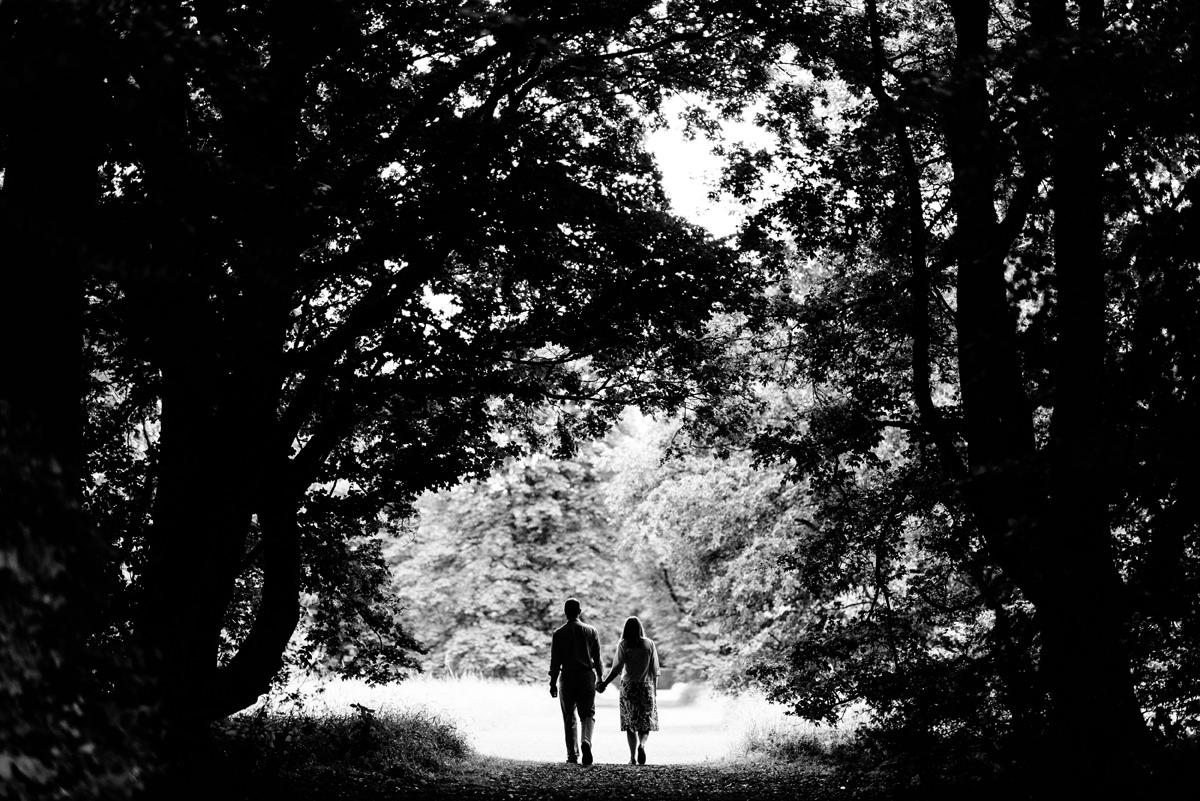 Cambridgeshire pre-wedding shoot