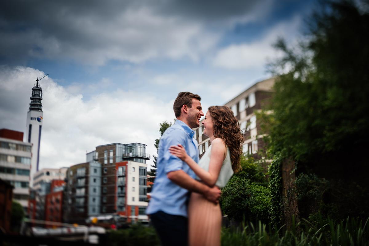 Birmingham pre-wedding shoot