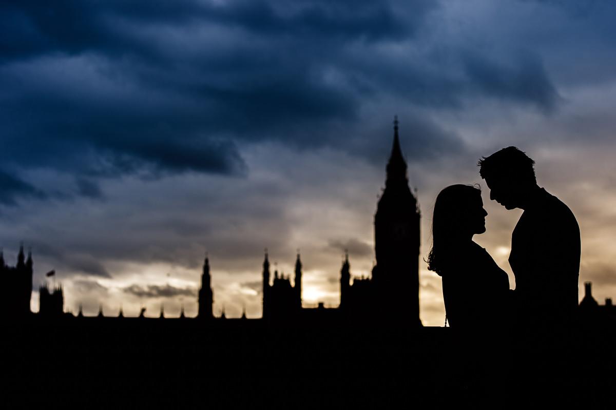Houses of Parliament pre-wedding shoot