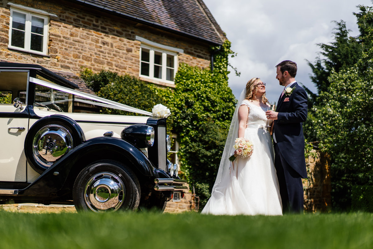 Northamptonshire wedding photos