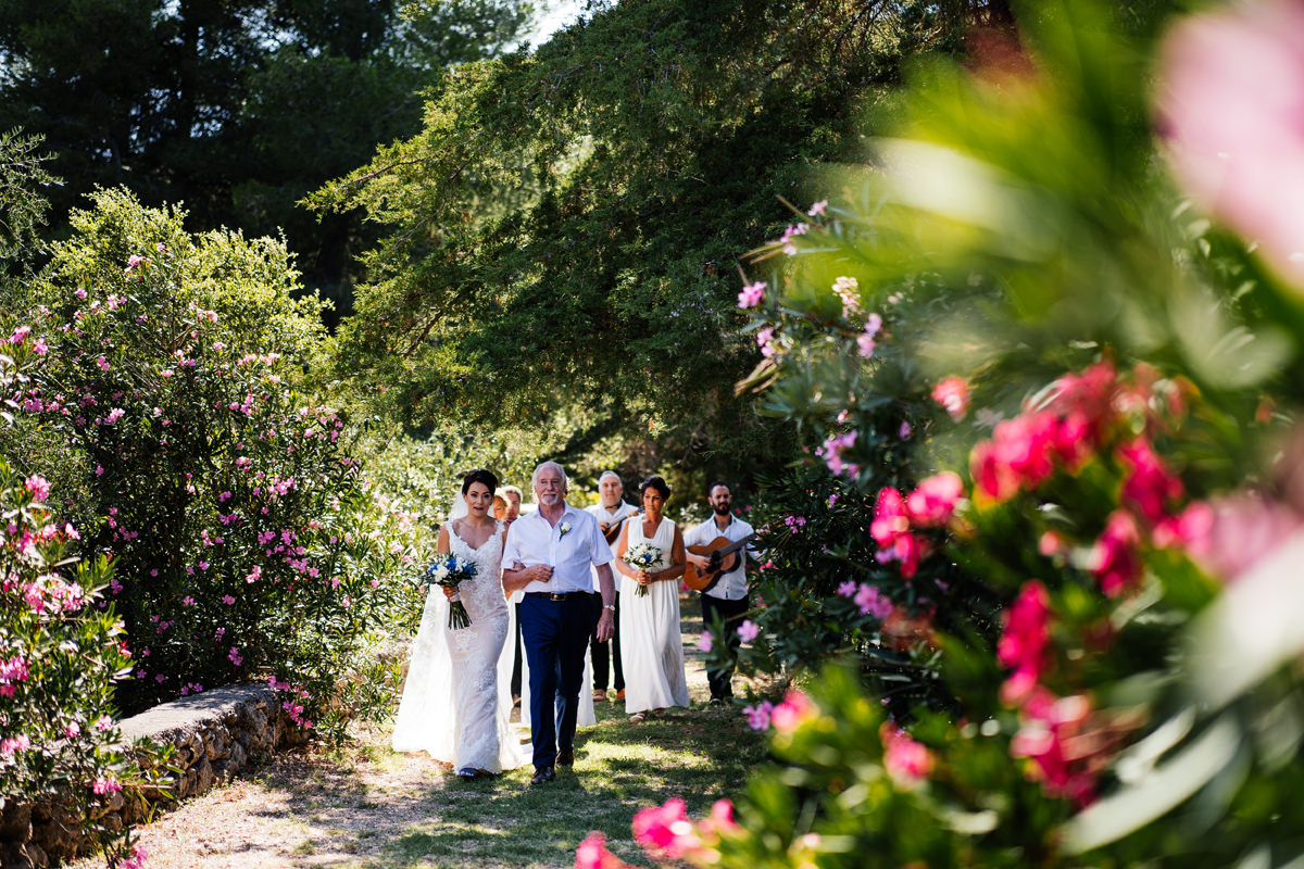 the long aisle of the gentilini retreat kefalonia