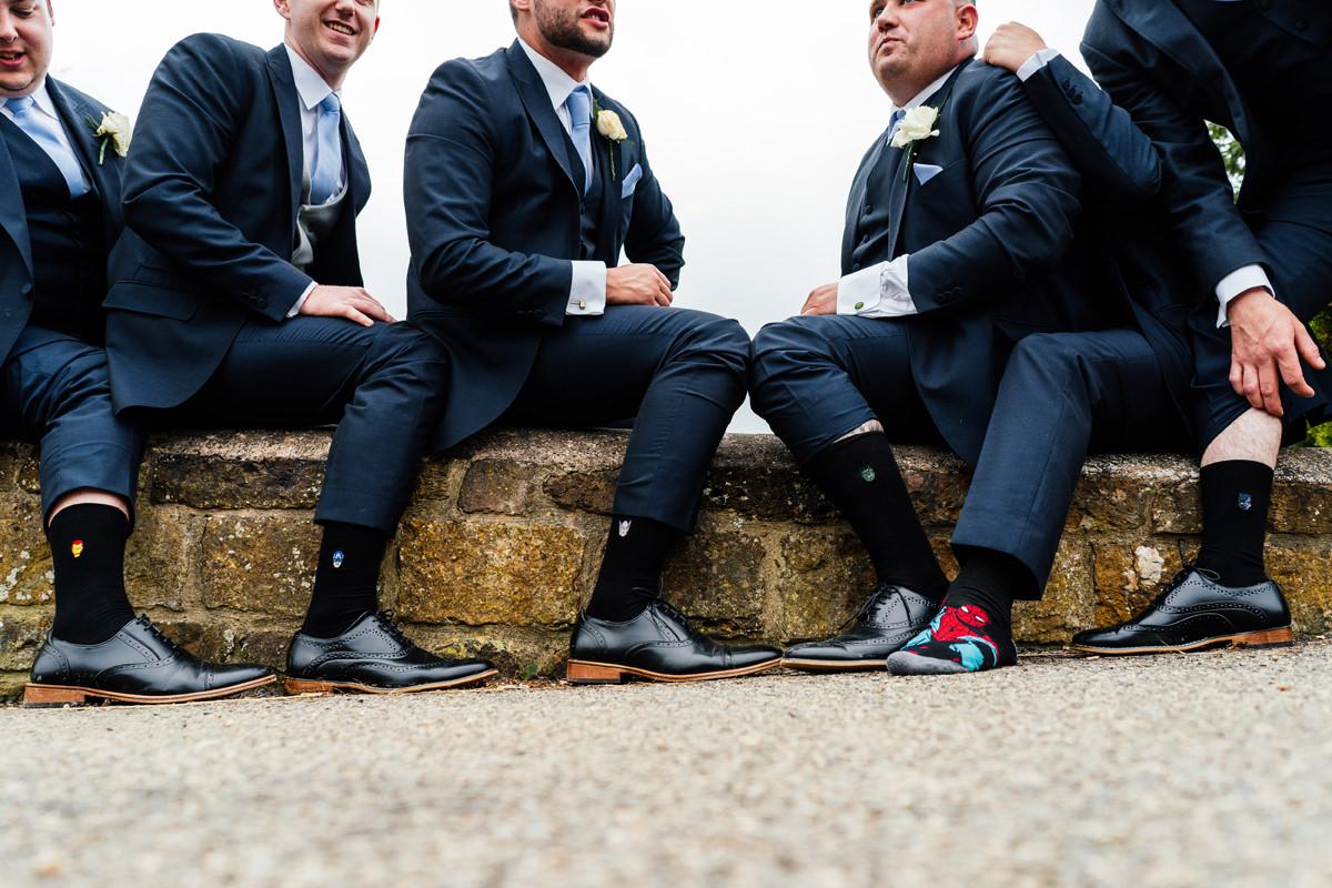 the boys and their socks