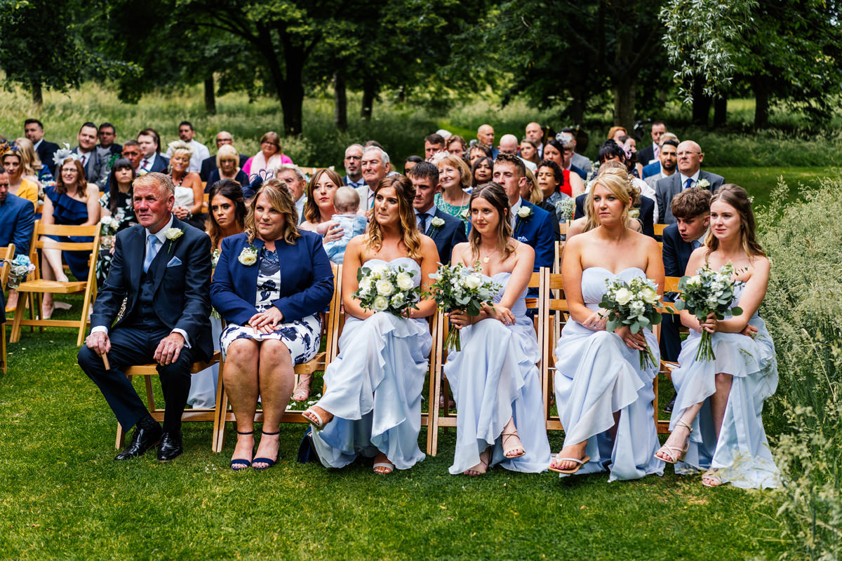 crockwell farm wedding outdoor ceremony