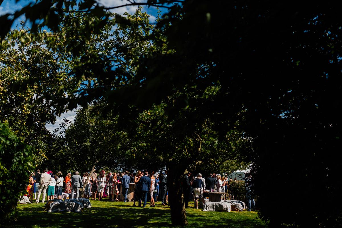 garden party drinks reception