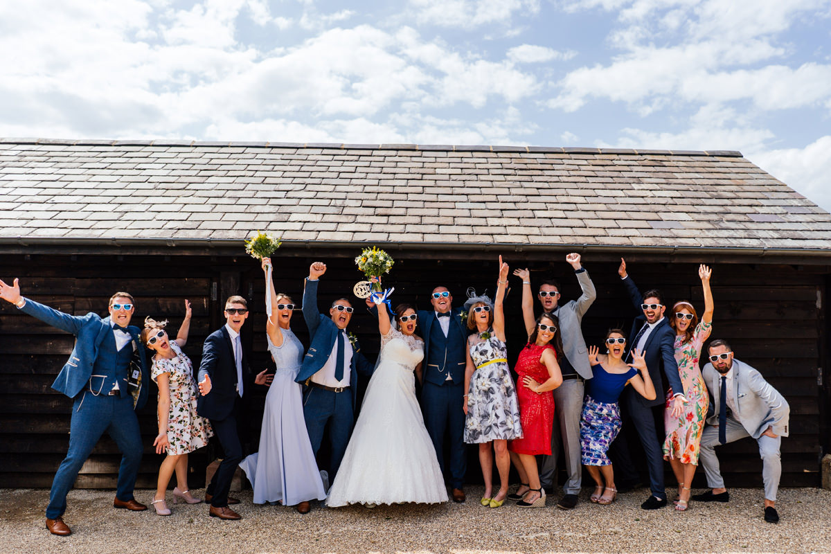 Wedding Family Group Photos at Dodford Manor