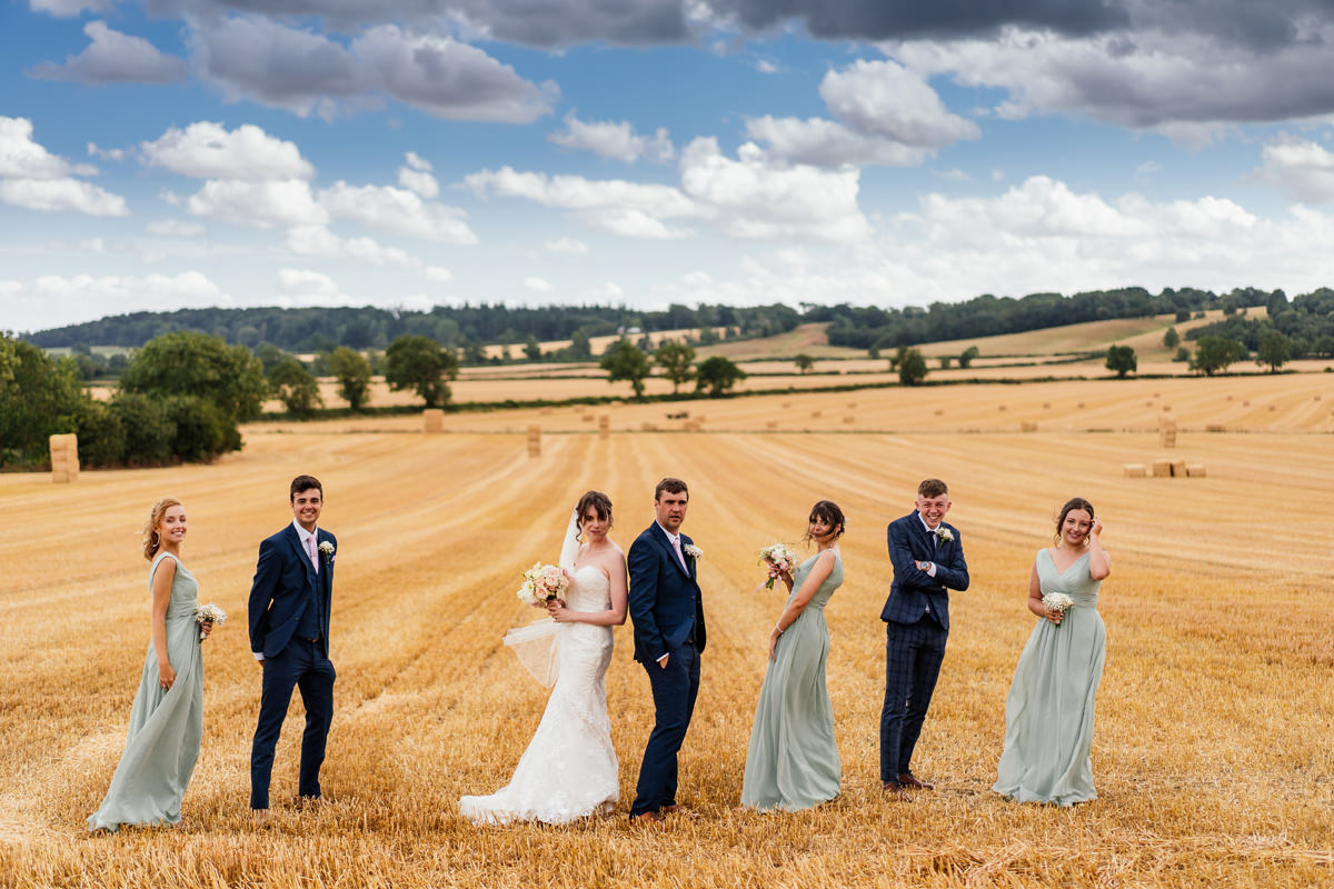 Wedding Group Photos at Hothorpe Hall