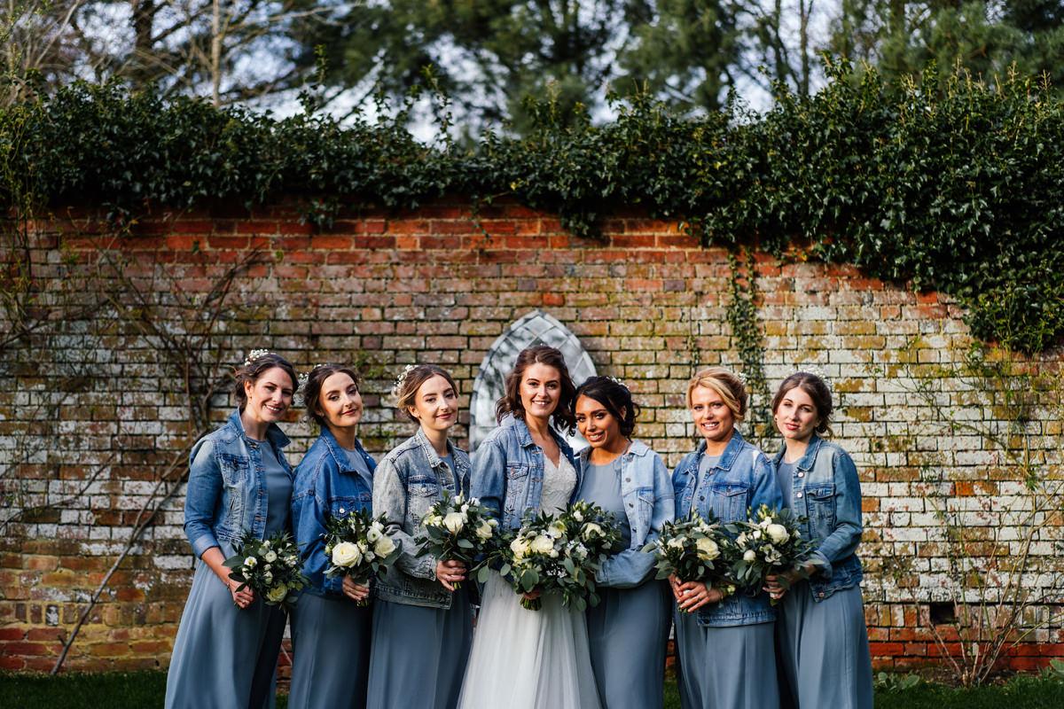 Bridesmaids Group Photos at Dodmoor House