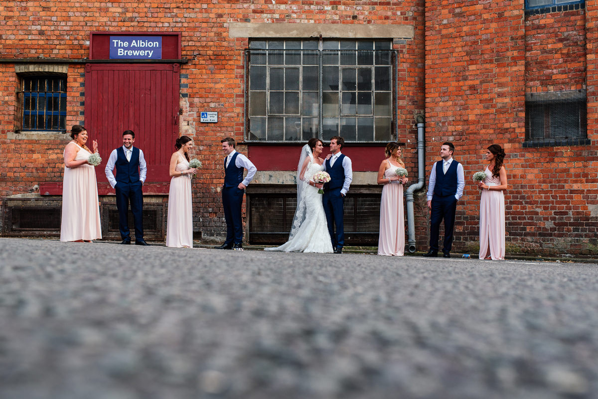 Northampton Wedding Group Photos