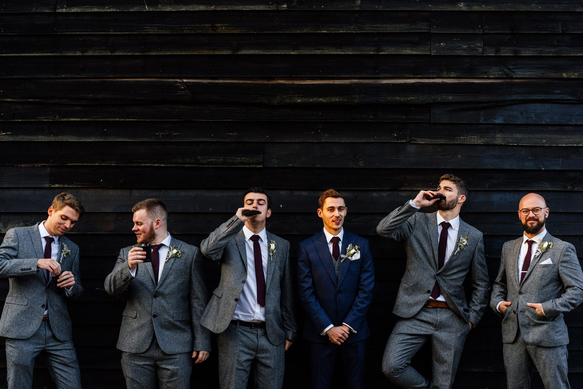 groomsmen group photo