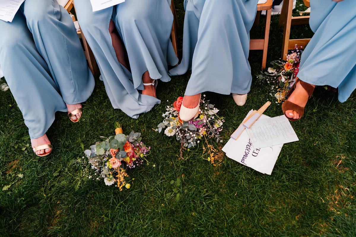 bridal flowers details