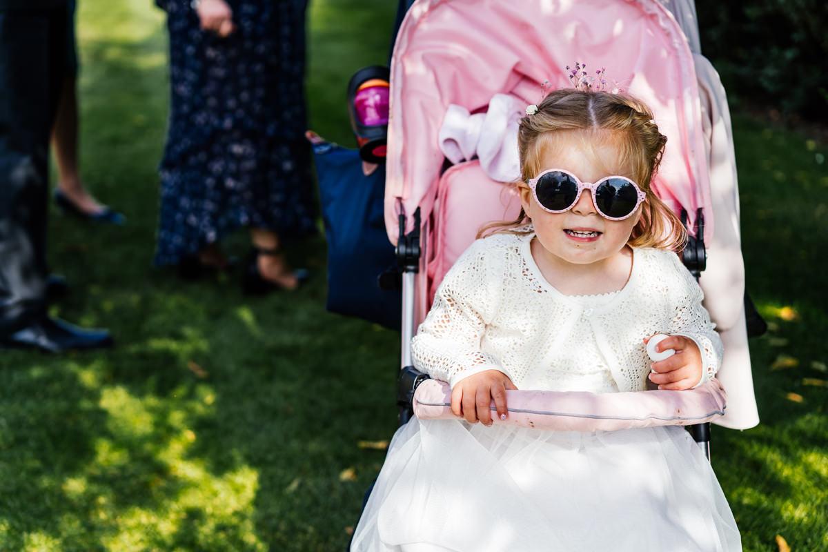 cool flower girl sun glasses