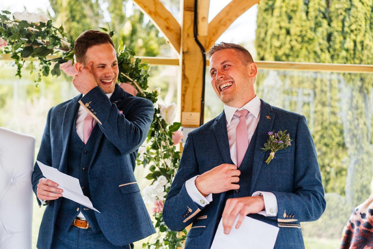 best men giving their speech